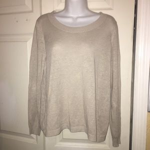 W by Worth Light Sweater Top Size Small